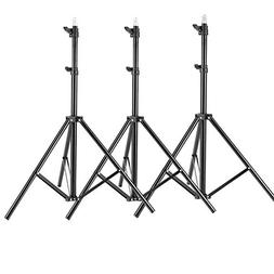 Neewer 3 Pieces 6ft/75 inch/190cm Photography Tripod Light S