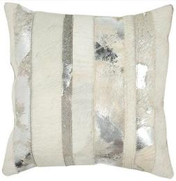 Safavieh Pillow Collection Throw Pillows, 18 by 18-Inch, Pey