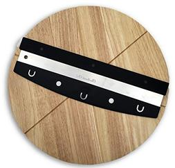 Checkered Chef Premium Pizza Cutter and Cutting Board Set -