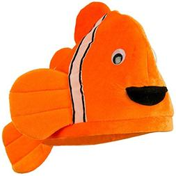 Jacobson Hat Company Plush Novelty Clown Fish Ocean Animal H
