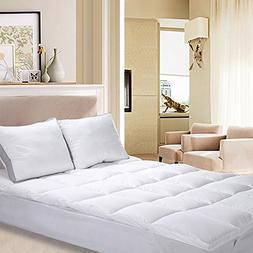 Utopia Bedding Polyester Mattress Topper  – Mattress Pad C