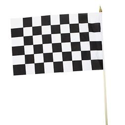 "12"" X 18"" Polyester Racing Flags Standard 1 dozen"