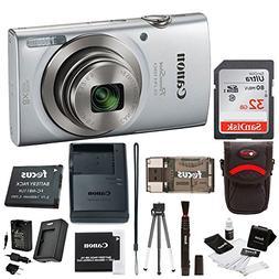 Canon PowerShot ELPH 180 20 MP Digital Camera  w/ 32GB Acces