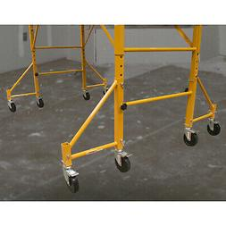 Pro-Series 18 inch Scaffolding Outriggers with Casters - 4 P
