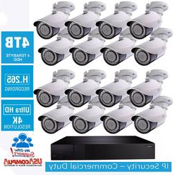Q-See Security System 32 Channel 16 Cameras Kit 4K 8MP 4TB P