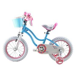 Royalbaby Stargirl Girl's Bike, 18 inch Wheels, Pink