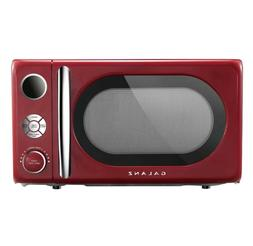 RETRO MICROWAVE OVEN 0.7 Cu Ft Compact Portable Countertop 7