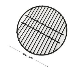 "BBQ 18"" Porcelain Coated Steel Wire Round Cooking Grate Grid"
