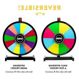 Round 'N Round Prize Wheel Dry Erase Heavy Duty Metal Stand