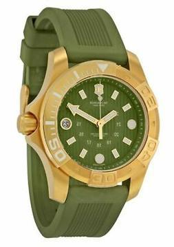 Victorinox Swiss Army 'Dive Master' Round Rubber Strap Watch