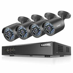 ANNKE Security Camera System 1080P Lite DVR Recorder and  10
