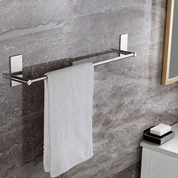 KES Bathroom Lavatory 3M Self Adhesive Single Towel Bar 15.7