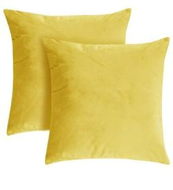 Set of 2- Deconovo Home Decorative Plush Velvet Super Soft 1
