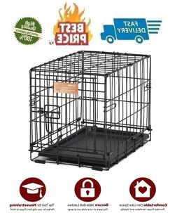 Small Dog Cage Portable Pet House 18 Inch Folding Cat Animal