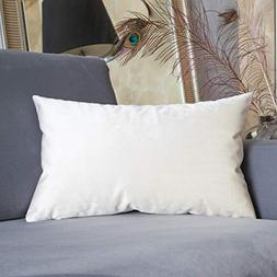 HOME BRILLIANT Spring Velvet Decorative Throw Pillow Cover A