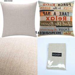 Trendin Square Pillow Cover - 18 X 18 Inch Decorative Throw