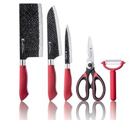 Imperial Collection 5 Piece Knife Set Include 2In1 Scissor/B