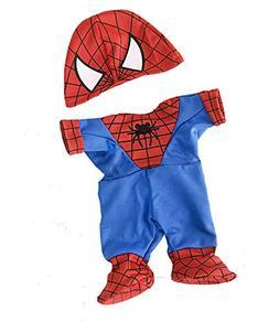 Stuffed Animal Clothing Accessories Spidey Teddy outfit Tedd