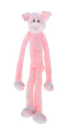 Multipet Swingin Slevin XXL Oversized 30-Inch Pink Pig Plush