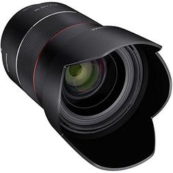 Samyang SYIO3514-E AF 35mm f/1.4 Auto Focus Wide Angle Full