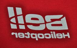 t-shirt small bell helicopter engineering 18 inches pit to p