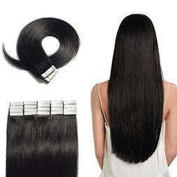 "Tape in Hair Extensions 100% Remy Human Hair 16"" 18"" 20"" 22"""