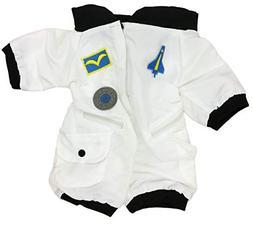 Teddy Bear Space Shuttle WHITE Astronaut Space Flight Suit F