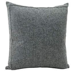 Jepeak Burlap Linen Throw Pillow Case Cushion Cover Farmhous
