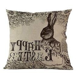 E-Scenery Clearance Sale! Throw Pillow Cases, Happy Easter B