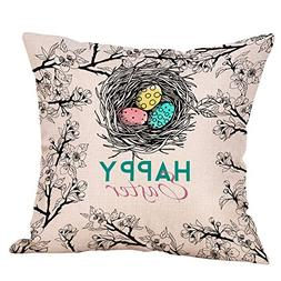 E-Scenery Clearance Sale! Throw Pillow Cases, Happy Easter E