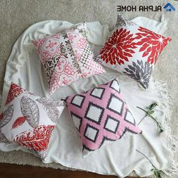 Throw Pillow Covers Cushion Covers - 4 Pack, 18 x 18 inch