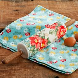 Timeless 18 inch Rolling Pin,Floral Themed Pioneer Woman Rol
