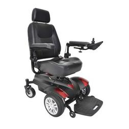 "Drive Medical Titan Front Wheel Power Wheelchair 18"" Vented"