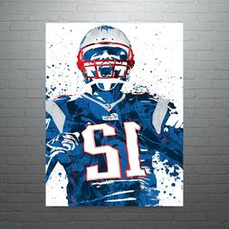 Tom Brady New England Patriots Poster FREE US SHIPPING