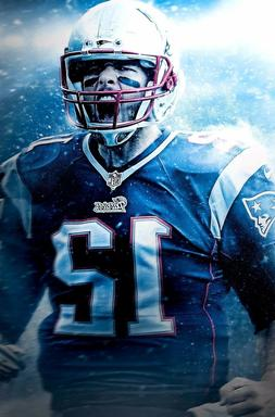 TOM BRADY PRINT - Choose Size & Media Type  Canvas or Poster