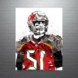 Tom Brady Tampa Bay Bucs Poster FREE US SHIPPING