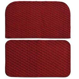 """Garland Rug Town Square 2pc Kitchen Rug Slice and Mat 18"""" x"""