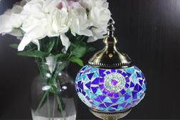Traditional Turkish Handmade Mosaic Table Desk Bedside Night
