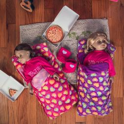 TWO 18 Inch Doll SLEEPING BAG   Fits American Girl Accessori