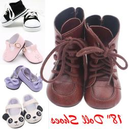 USA Beautiful Doll Shoes Fits 18 Inch Doll and Other 18 Inch