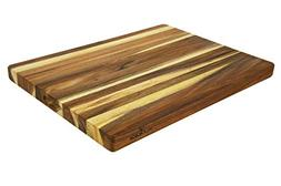 Villa Acacia Extra Large Wood Cutting Board 24x18 Inch, 1.5""