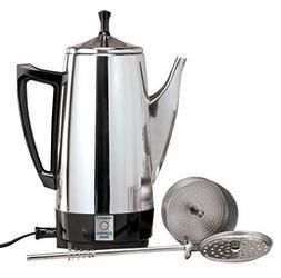 WalterDrake 02822 Presto Stainless Steel Percolator, 6 Cup,