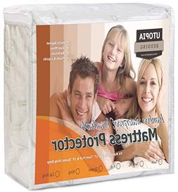 Utopia Bedding Waterproof Bamboo Mattress Protector - Hypoal
