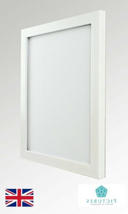 White Photo Picture 19mm Frame 4x4 4x5 4x6 4x7 4x8 4x9 4x10