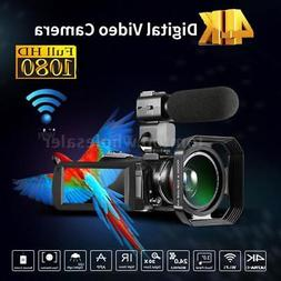 Andoer WiFi 4K ULTRAHD 30X ZOOM IR 0.39X Lens Digital Camera