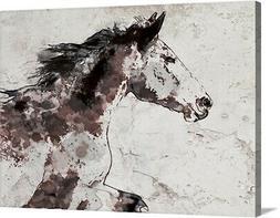 Winner Horse I Canvas Art Print