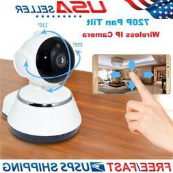 Zmodo 720p HD Wireless WiFi Network 350° Pan 85° Tilt Smar