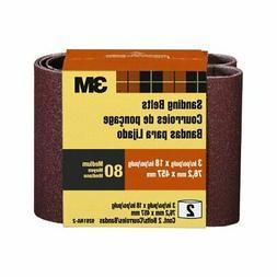 3 X 18 120 Grit Sanding Belts