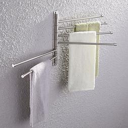 Moen YB5124BN Voss 24-Inch Bathroom Towel Bar, Brushed Nicke