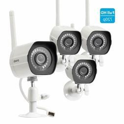 Zmodo ZMW00024 720p HD Outdoor Wireless Bullet IP Camera, 4